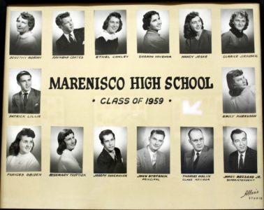 Marenisco Graduating Class of 1959