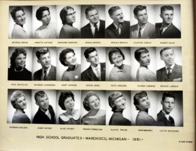Marenisco Graduating Class of 1961