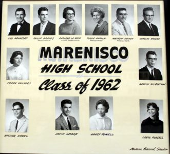 Marenisco Graduating Class of 1962