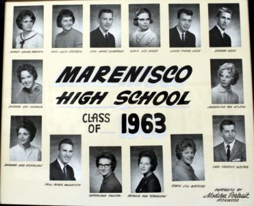 Marenisco Graduating Class of 1963
