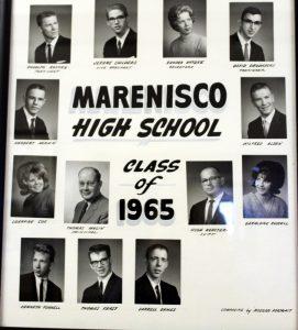 Marenisco Graduating Class of 1965