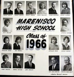 Marenisco Graduating Class of 1966