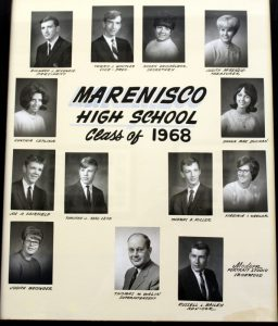 Marenisco Graduating Class of 1968