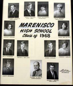 Marenisco Graduating Class of 1968