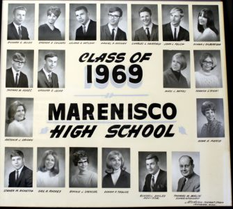 Marenisco Graduating Class of 1969