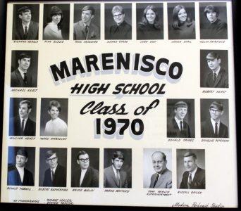 Marenisco Graduating Class of 1970