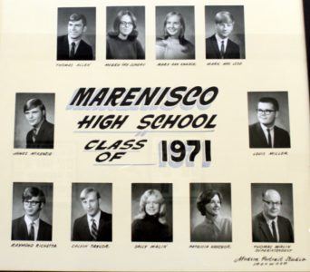 Marenisco Graduating Class of 1971
