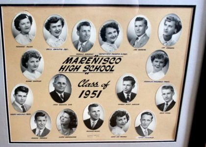 Marenisco Graduating Class of 1951