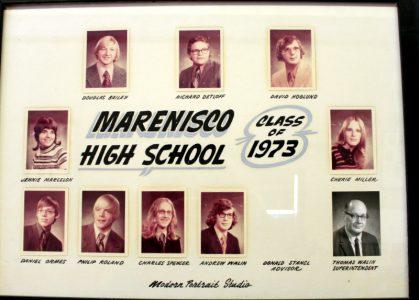 Marenisco Graduating Class of 1973