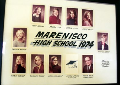 Marenisco Graduating Class of 1974