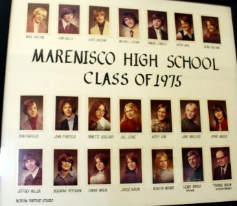 Marenisco Graduating Class of 1975
