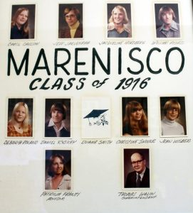 Marenisco Graduating Class of 1976