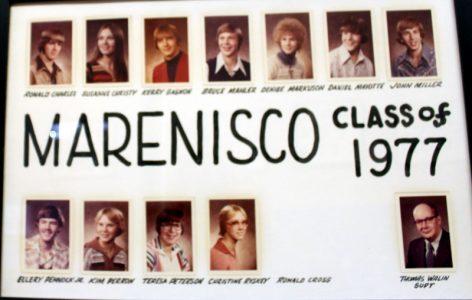 Marenisco Graduating Class of 1977