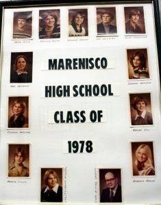 Marenisco Graduating Class of 1978