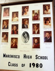 Marenisco Graduating Class of 1980