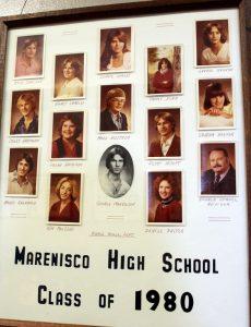 Marenisco Graduating Class of 1980