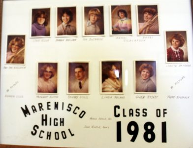 Marenisco Graduating Class of 1981