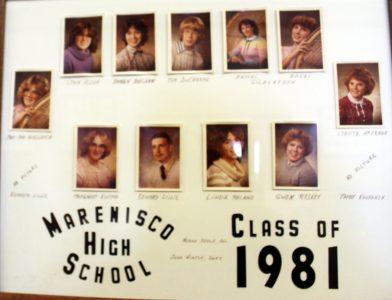 Marenisco Graduating Class of 1981