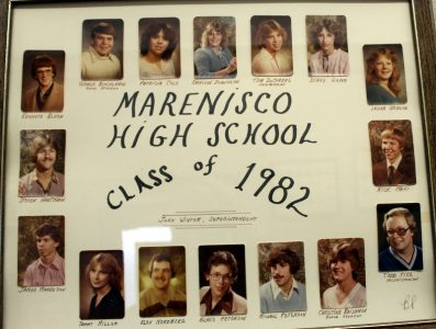 Marenisco Graduating Class of 1982