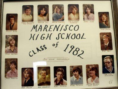 Marenisco Graduating Class of 1982