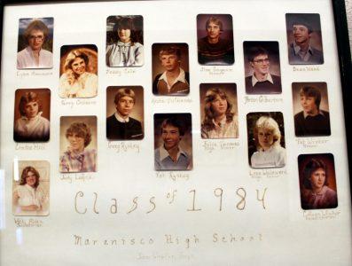 Marenisco Graduating Class of 1984