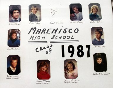 Marenisco Graduating Class of 1987