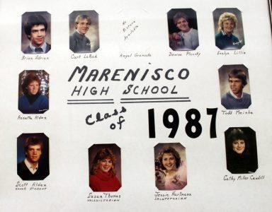 Marenisco Graduating Class of 1987