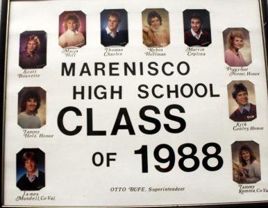 Marenisco Graduating Class of 1988