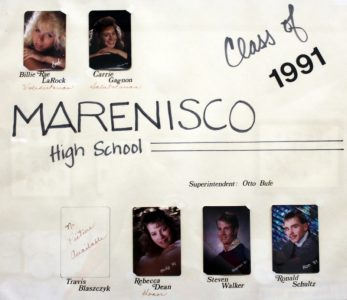 Marenisco Graduating Class of 1991