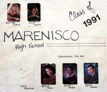 Marenisco Graduating Class of 1991