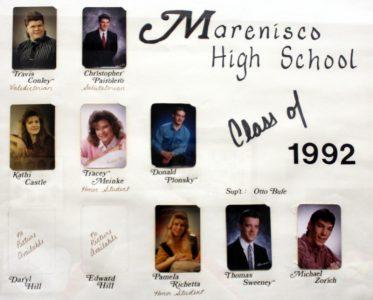 Marenisco Graduating Class of 1992