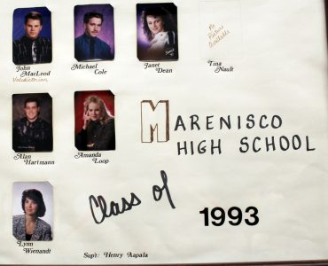 Marenisco Graduating Class of 1993