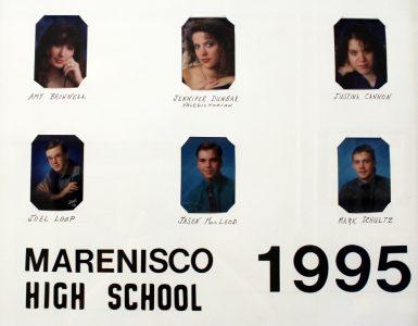 Marenisco Graduating Class of 1995