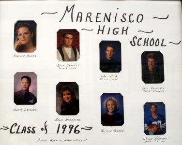 Marenisco Graduating Class of 1996