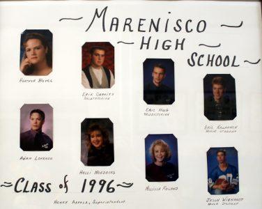 Marenisco Graduating Class of 1996