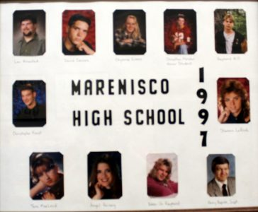 Marenisco Graduating Class of 1997
