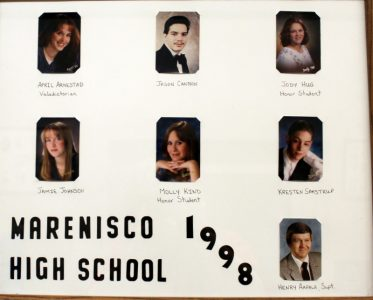 Marenisco Graduating Class of 1998