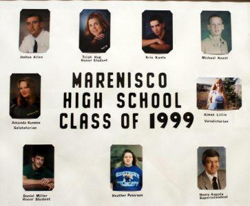 Marenisco Graduating Class of 1999