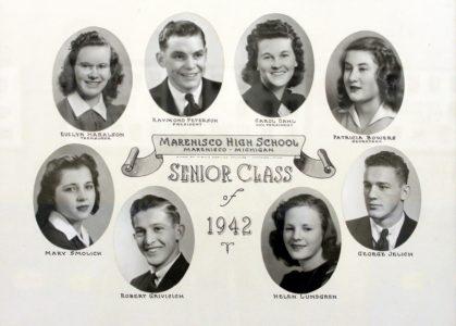 Marenisco Graduating Class of 1942