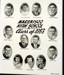 Marenisco Graduating Class of 1953