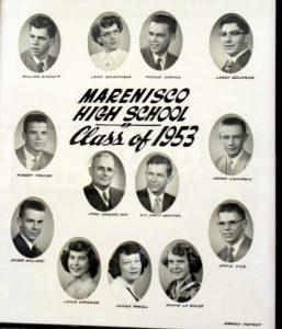 Marenisco Graduating Class of 1953