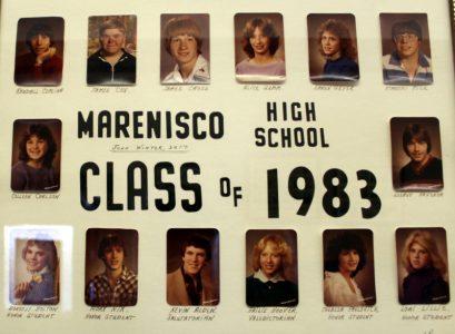 Marenisco Graduating Class of 1983
