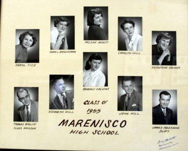 Marenisco Graduating Class of 1955