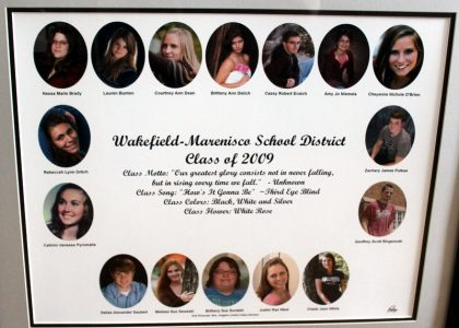 Wakefield-Marenisco Graduating Class of 2009