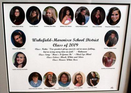Wakefield-Marenisco Graduating Class of 2009