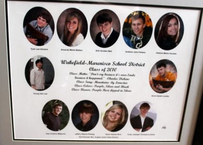 Wakefield-Marenisco Graduating Class of 2010