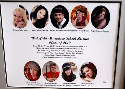 Wakefield-Marenisco Graduating Class of 2012