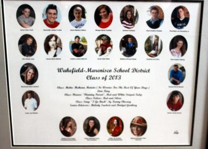 Wakefield-Marenisco Graduating Class of 2013