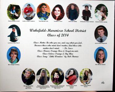 Wakefield-Marenisco Graduating Class of 2014