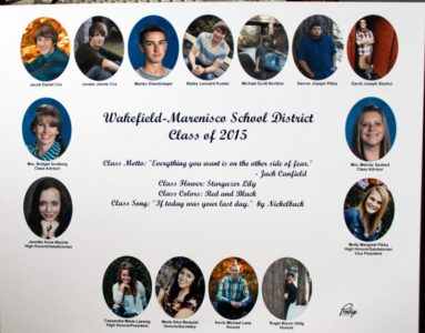 Wakefield-Marenisco Graduating Class of 2015